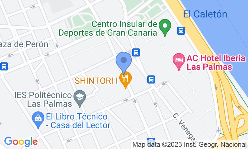 Localizzazione del parcheggio sulla mappa - Prenota un posto nel parcheggio SABA Edificios Múltiples