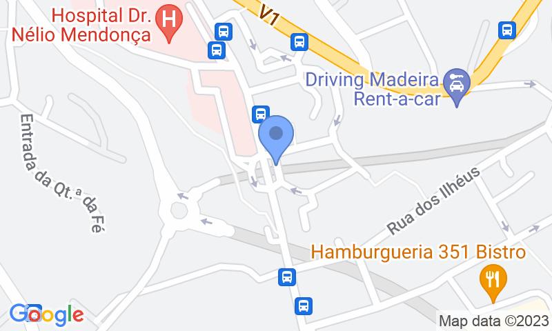 Localizzazione del parcheggio sulla mappa - Prenota un posto nel parcheggio SABA Parque Hospital Cruz Carvalho