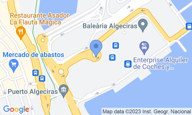 Lugar de estacionamento no mapa - Reserve uma vaga de  estacionamento no Puerto Algeciras