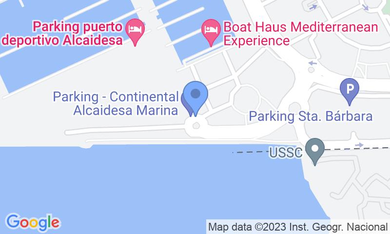 Lugar de estacionamento no mapa - Reserve uma vaga de  estacionamento no Frontera Gibraltar - Alcaidesa Marina