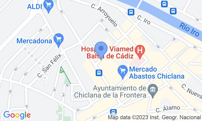 Localizzazione del parcheggio sulla mappa - Prenota un posto nel parcheggio IC- Plaza deAbastos