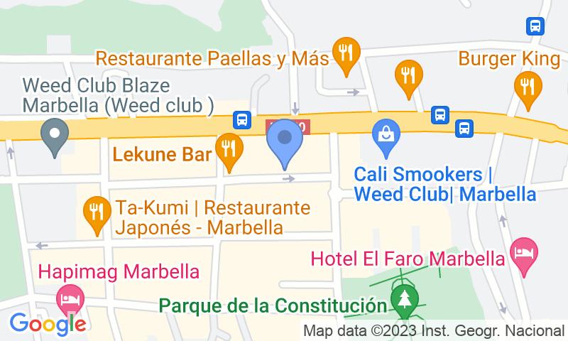 Parkeerlocatie op de kaart - Reserveer een parkeerplek in parkeergarage APK2 El Molino