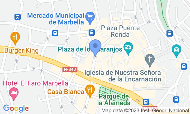 Lugar de estacionamento no mapa - Reserve uma vaga de  estacionamento no Plaza de la Victoria
