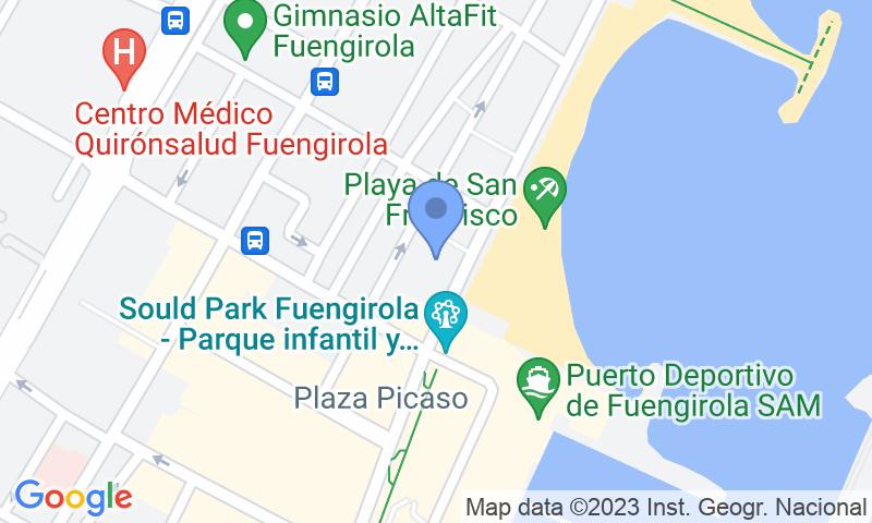 Localizzazione del parcheggio sulla mappa - Prenota un posto nel parcheggio Parking Plaza Andrés López Yebra