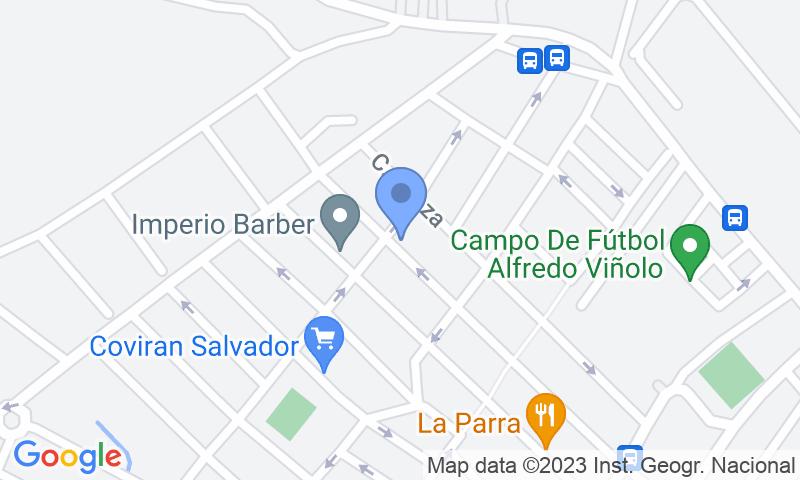 Emplacement du parking sur la carte - Réservez une place dans le parking Park&Go - Aeropuerto Málaga - Shuttle