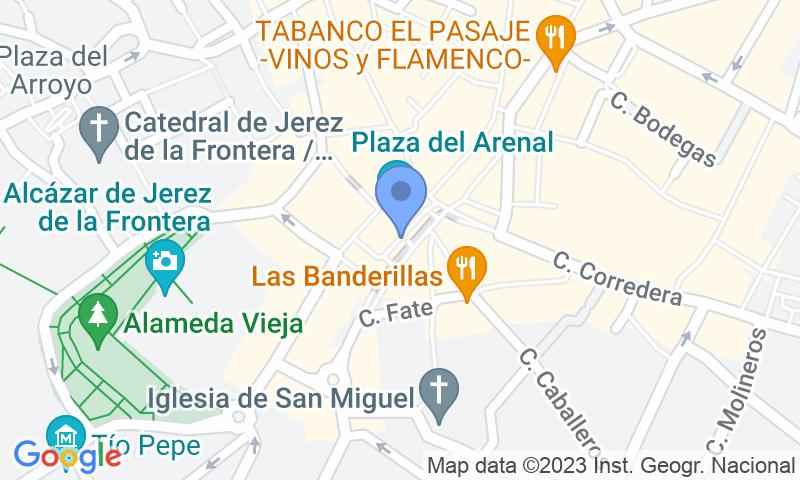 Localizzazione del parcheggio sulla mappa - Prenota un posto nel parcheggio Plaza Del Arenal