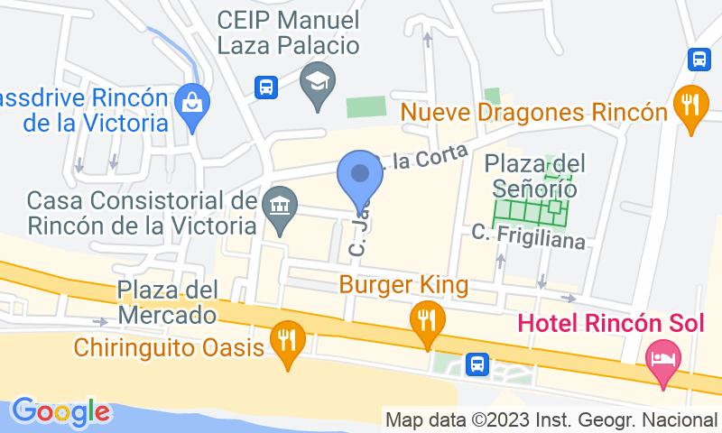 Localizzazione del parcheggio sulla mappa - Prenota un posto nel parcheggio Rincón-Llano de Torroba