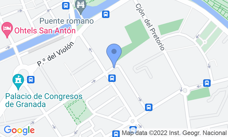 Parking location in the map - Book a parking spot in APK2 Escolapios car park