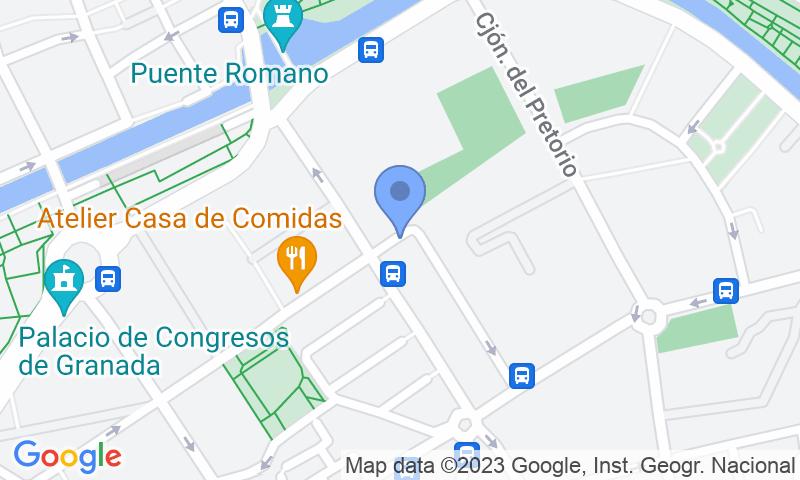 Parkeerlocatie op de kaart - Reserveer een parkeerplek in parkeergarage APK2 Escolapios