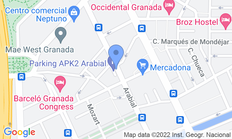 Localización del parking en el mapa - Reservar una plaza en el parking APK2 Arabial