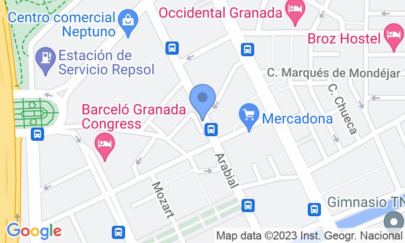 Localizzazione del parcheggio sulla mappa - Prenota un posto nel parcheggio APK2 Arabial