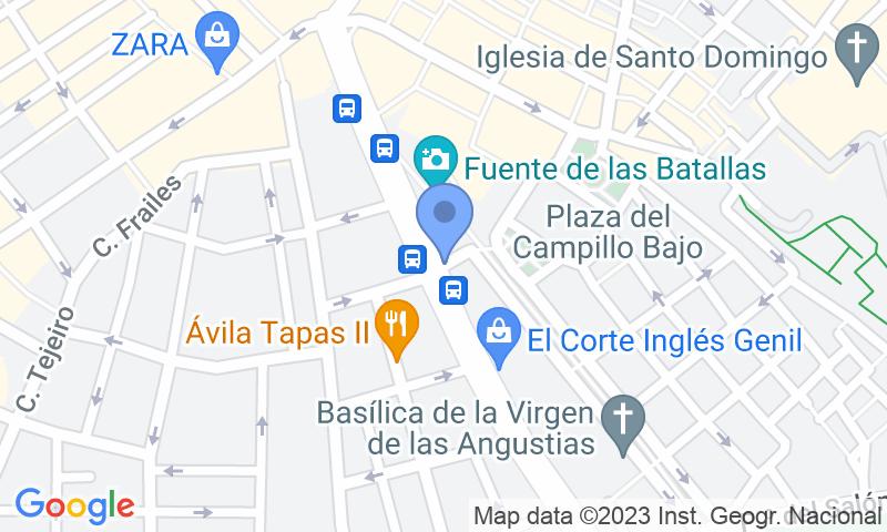 Localización del parking en el mapa - Reservar una plaza en el parking APK2 Puerta Real