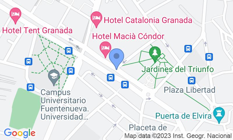 Localizzazione del parcheggio sulla mappa - Prenota un posto nel parcheggio APK2 Triunfo