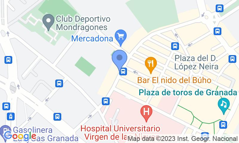 Localización del parking en el mapa - Reservar una plaza en el parking APK2 Mondragones APK73 Aparcamientos