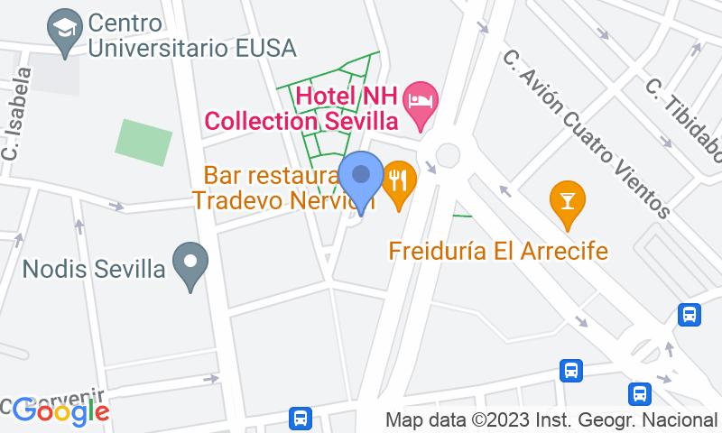 Localizzazione del parcheggio sulla mappa - Prenota un posto nel parcheggio Insur