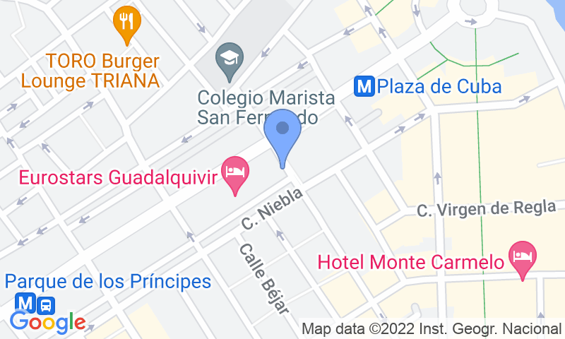 Расположение парковки на карте - Забронируйте паркоместо на стоянке Buenos Aires