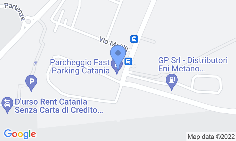 Parking location in the map - Book a parking spot in Fast Parking & Parkingo Coperto car park