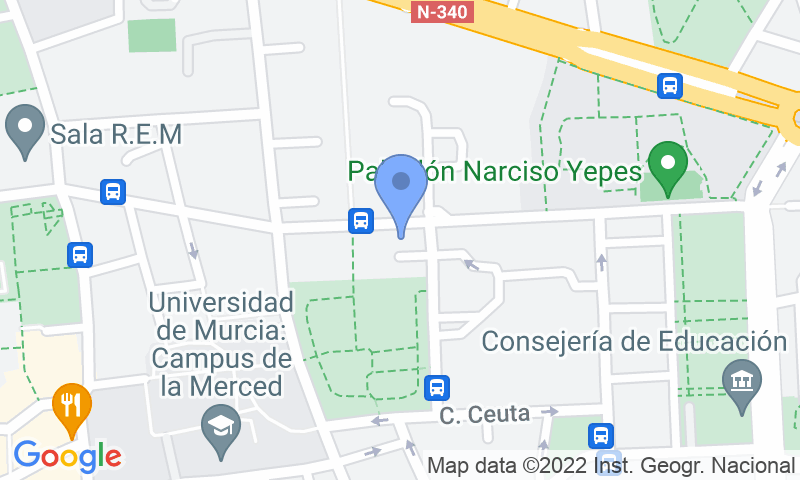 Parking location in the map - Book a parking spot in APK2 - Santoña car park