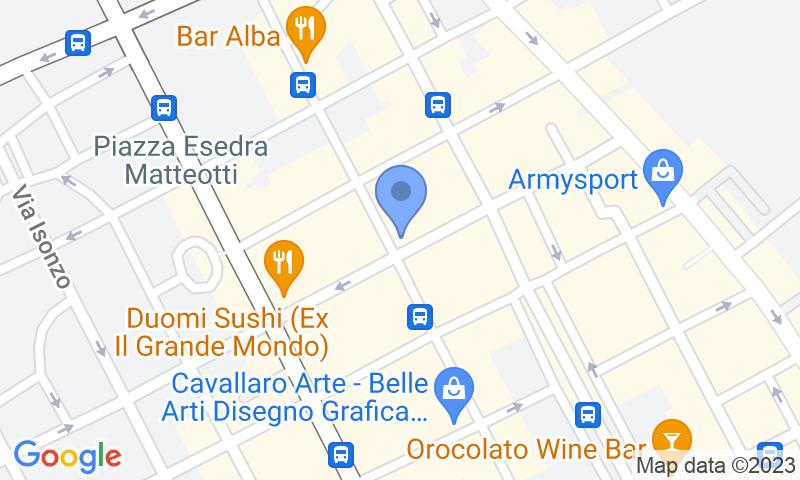 Localizzazione del parcheggio sulla mappa - Prenota un posto nel parcheggio Tumminello Via M.D'Azeglio