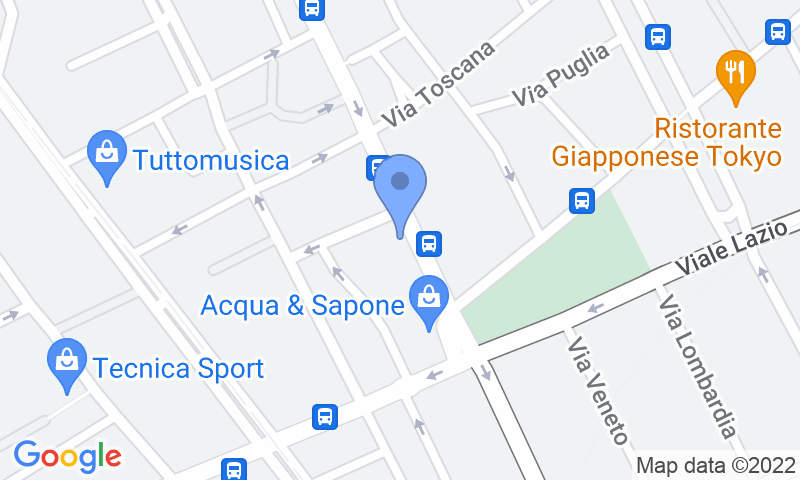 Localizzazione del parcheggio sulla mappa - Prenota un posto nel parcheggio Tumminello Via E.Restivo