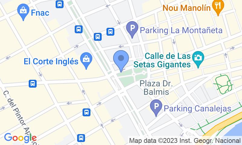Localizzazione del parcheggio sulla mappa - Prenota un posto nel parcheggio SABA Maisonnave