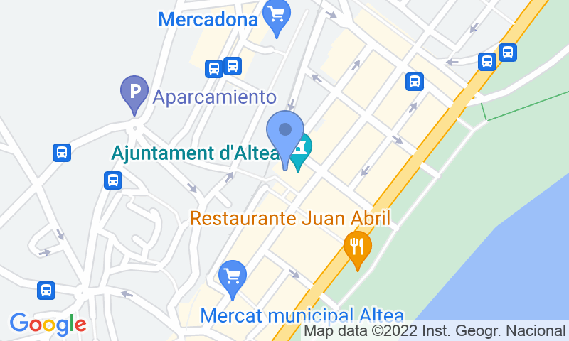 Parking location in the map - Book a parking spot in Plaza del Ayuntamiento car park