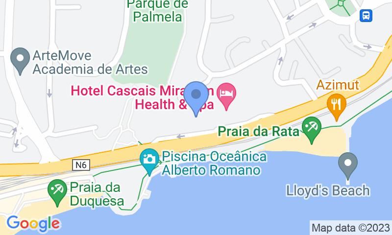 Localizzazione del parcheggio sulla mappa - Prenota un posto nel parcheggio Placegar Parque Estoril Residence