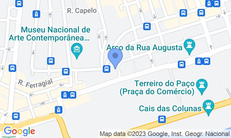 Localizzazione del parcheggio sulla mappa - Prenota un posto nel parcheggio SABA Parque da Praça do Município