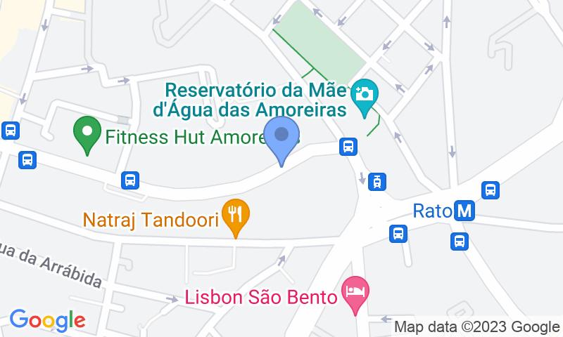 Расположение парковки на карте - Забронируйте паркоместо на стоянке V Dinastia Guest House - Descoberto
