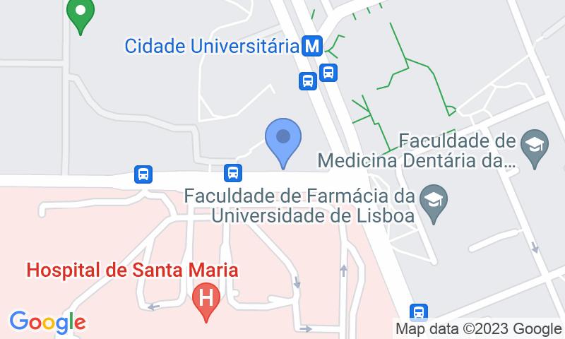 Localizzazione del parcheggio sulla mappa - Prenota un posto nel parcheggio SABA Parque do Estádio Universitário