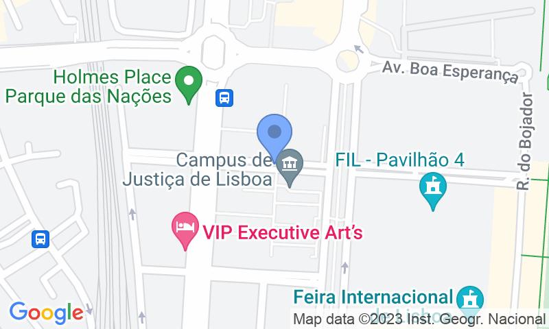 Standort des Parkplatzes auf der Karte - Buch einen Parkplatz im Placegar Parque Ope Campus Justiça Parkplatz.
