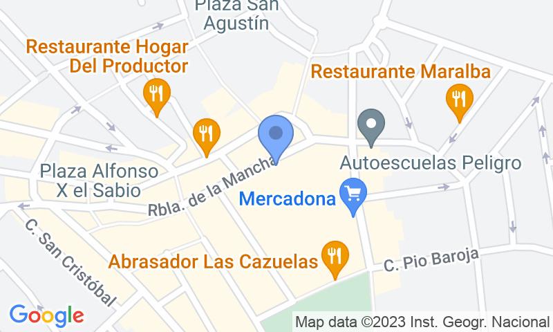 Lugar de estacionamento no mapa - Reserve uma vaga de  estacionamento no Rambla Centro