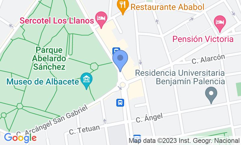 Localización del parking en el mapa - Reservar una plaza en el parking APK2 Avda. España