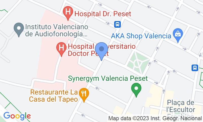 Localizzazione del parcheggio sulla mappa - Prenota un posto nel parcheggio Santa Teresa