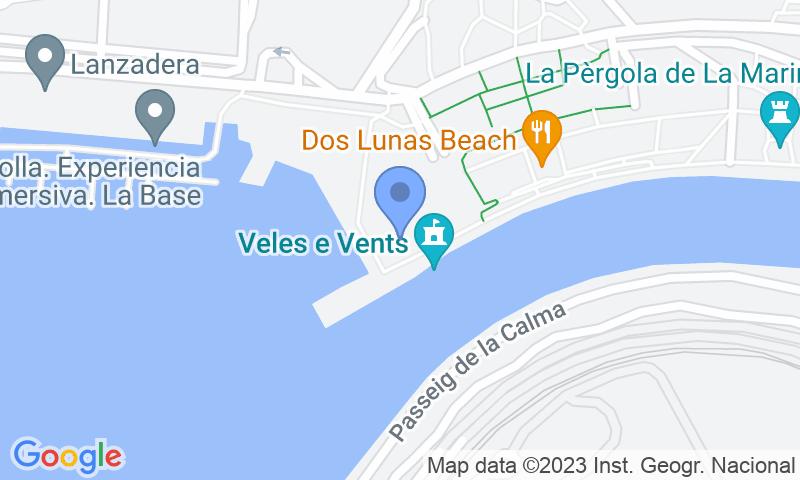 Standort des Parkplatzes auf der Karte - Buch einen Parkplatz im Oliveral Cruceros Parkplatz.
