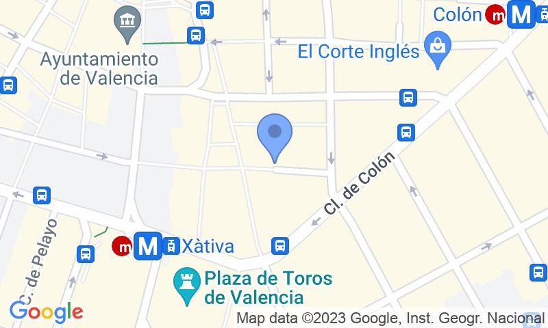Localizzazione del parcheggio sulla mappa - Prenota un posto nel parcheggio APK2 Lys