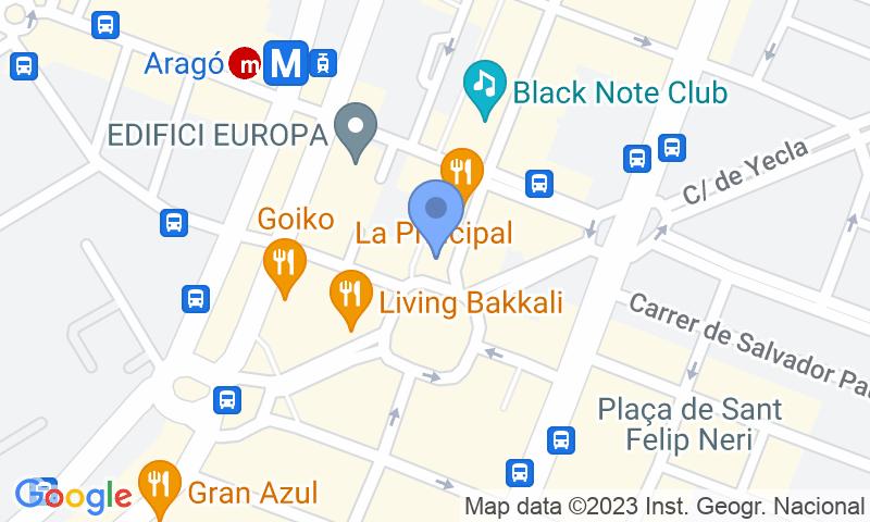 Standort des Parkplatzes auf der Karte - Buch einen Parkplatz im APK2 Aragón - Chile Parkplatz.