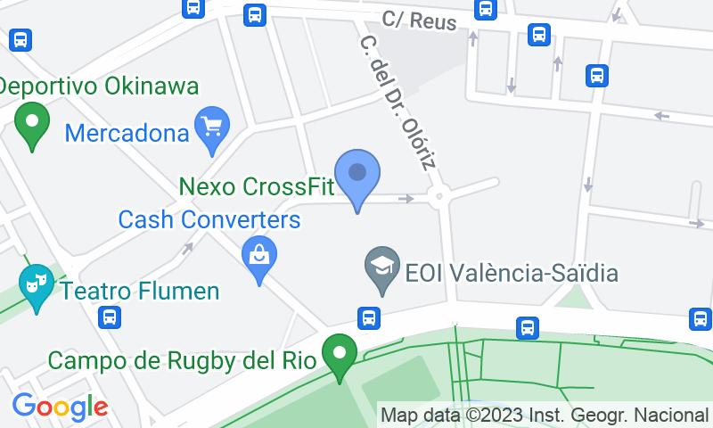Localizzazione del parcheggio sulla mappa - Prenota un posto nel parcheggio e-Parkings