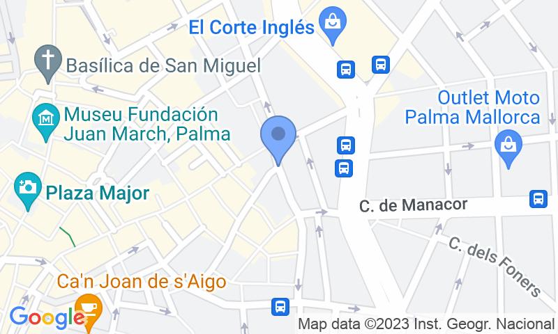 Lugar de estacionamento no mapa - Reserve uma vaga de  estacionamento no SABA Sa Gerreria