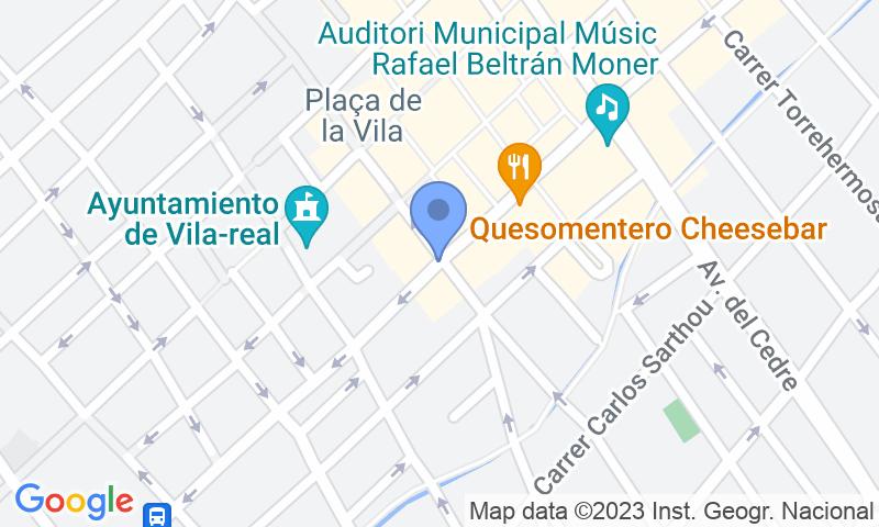 Localizzazione del parcheggio sulla mappa - Prenota un posto nel parcheggio APK2 Plaza Mayor