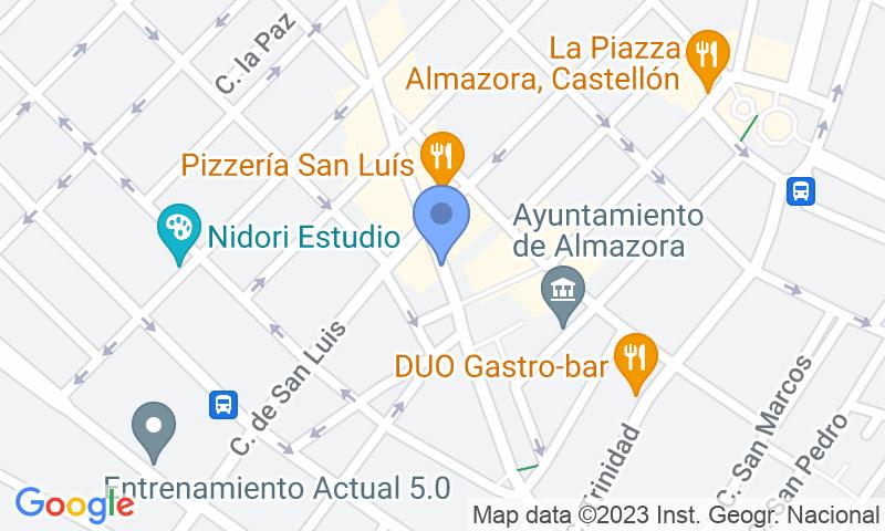 Lugar de estacionamento no mapa - Reserve uma vaga de  estacionamento no APK2 Pere Cornell - Almassora