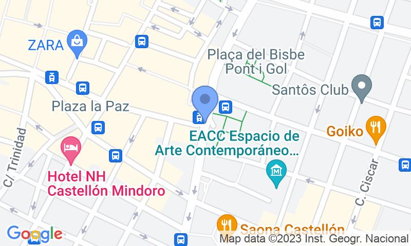 Localizzazione del parcheggio sulla mappa - Prenota un posto nel parcheggio APK2 Borrull