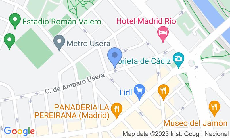 Localizzazione del parcheggio sulla mappa - Garaje Parking Herederos Jesús Díez Madurga