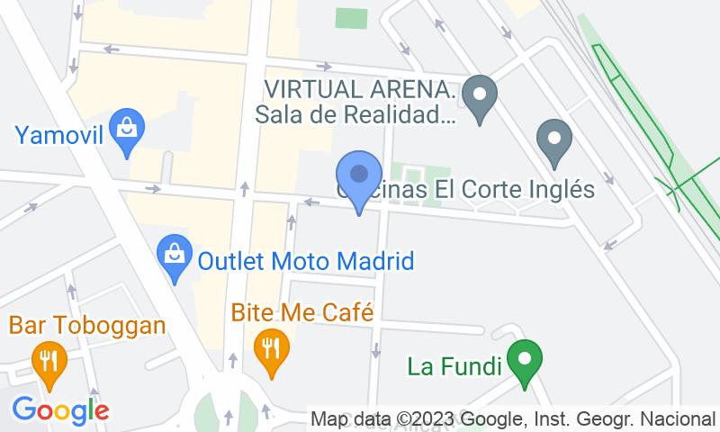 Localizzazione del parcheggio sulla mappa - Prenota un posto nel parcheggio Juan de Vera