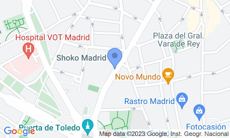 Localizzazione del parcheggio sulla mappa - Prenota un posto nel parcheggio La Latina - Turismos r.