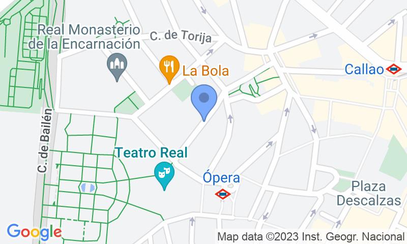 Localització del parking al mapa - Reservar una plaça al parking Palacio de los Duques