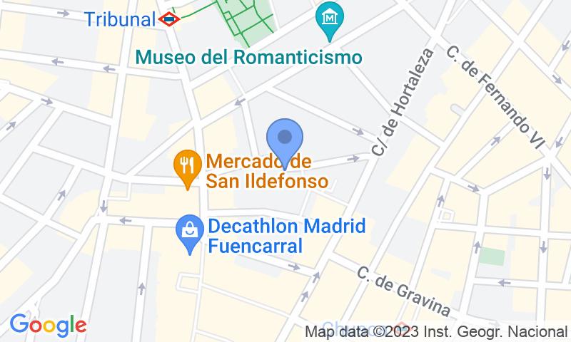 Localizzazione del parcheggio sulla mappa - Prenota un posto nel parcheggio Escuelas Pías San Antón
