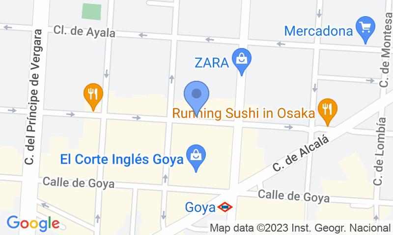 Lugar de estacionamento no mapa - Reserve uma vaga de  estacionamento no Mercado de Torrijos