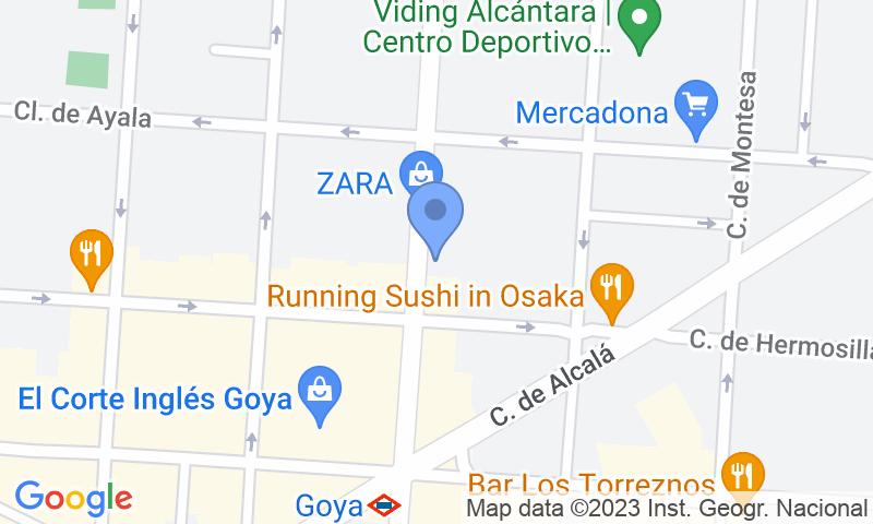 Localizzazione del parcheggio sulla mappa - Garaje Martínez