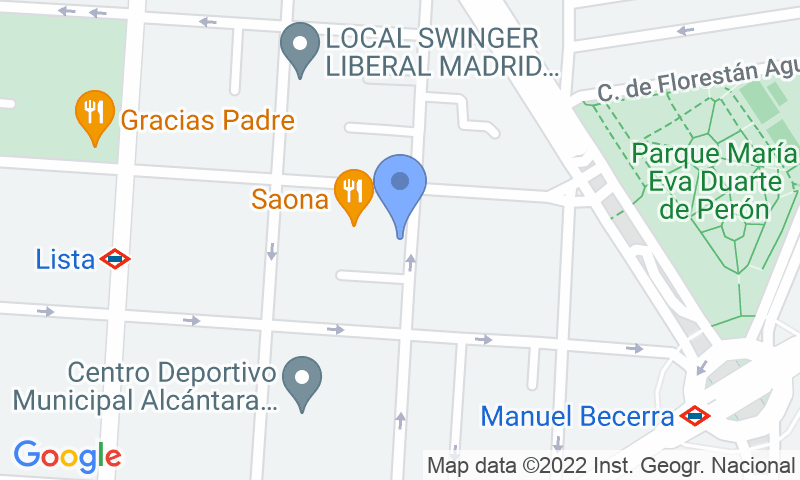 Localització del parking al mapa - Reservar una plaça al parking Montesa 31